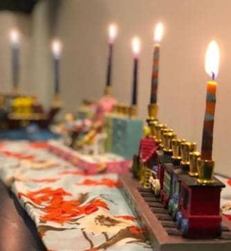 Sunny Leone Celebrates Jewish Festival Hanukkah With Husband Daniel Weber And Their Three Kids.