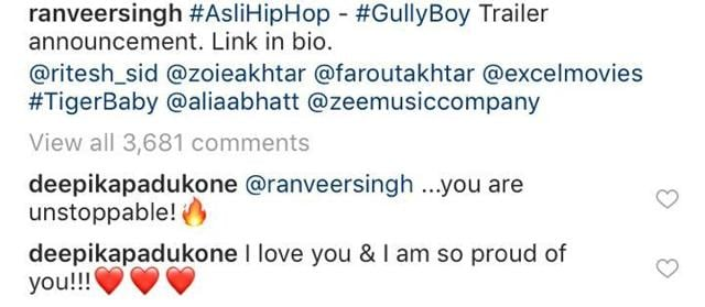 Deepika Padukone Showers Love On Husband Ranveer Singh's Gully Boy Teaser, Says She Is Proud Of Him
