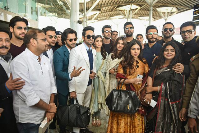 From Ranbir Kapoor-Vicky's Sanju Reunion To Ranveer Singh's 'Jaadoo Ki Jhappi': All Pics From Celebs Meeting PM Modi