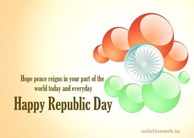 10. हमें भारत के युवाओं को यह संकल्प लेना चाहिए कि जब तक हमारी आखिरी सांस तक आतंकवाद के खिलाफ लड़ाई जारी रहेगी, हम भ्रष्टाचार के खिलाफ लड़ेंगे।हम अपनी भारत माता की रक्षा करेंगे, हम सब के साथ जय हिंद!गणतंत्र दिवस (Republic Day) की शुभकामनाएँ!
