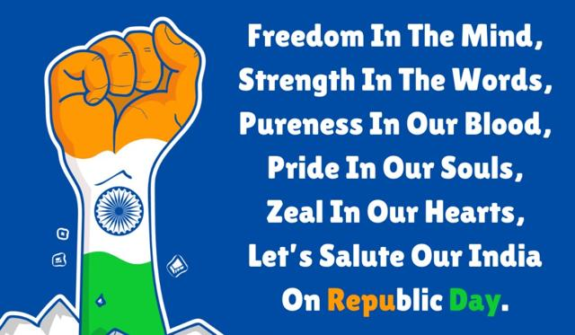 Happy Republic Day wishes: Top 15 wishes, quotes, greetings, WhatsApp, SMS, Facebook messages, GIFs for this special day. 72th Republic Day of India