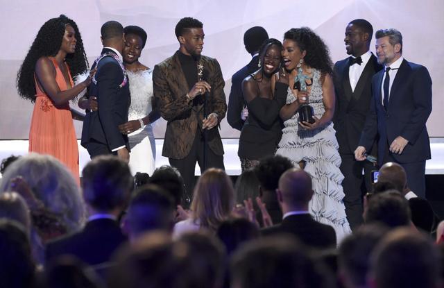 SAG Awards: Black Panther Pulls Of Surprise Win, Boosts Oscars Chances