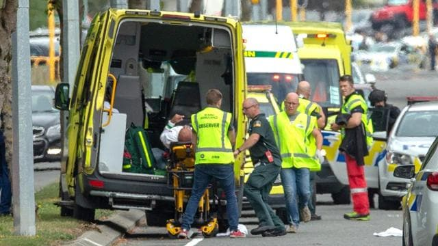 Photos: 49 killed in shootings at two New Zealand mosques