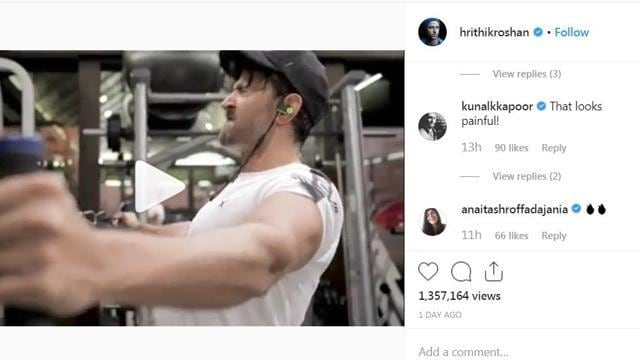 Ex- Wife Sussanne Roshan Comments On Hrithik Roshan's New Workout Video, Here's What She Said
