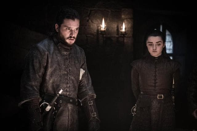 George RR Martin Wanted A Jon Snow-Arya Stark Romance In Game Of Thrones
