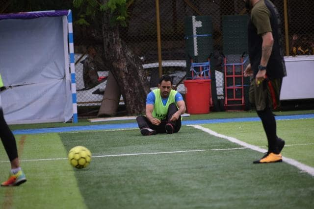 MS Dhoni Nearly Gets Mobbed After Celebrity Football Match With Arjun Kapoor