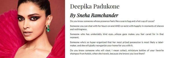 Friend Says Deepika Padukone Steals Miniature Shampoo Bottles From Hotels For Her