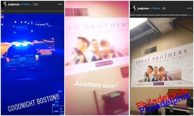 Priyanka Chopra, Sophie Turner Join In The Fun As Nick And Joe Jonas Perform On Happiness Begins Tour