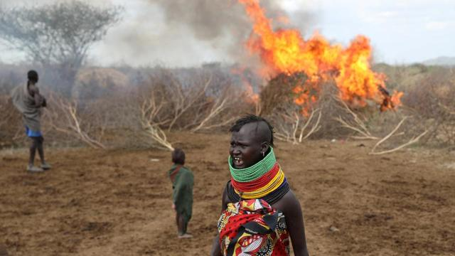 Photos: A rush to arms against cattle raiders in northern Kenya
