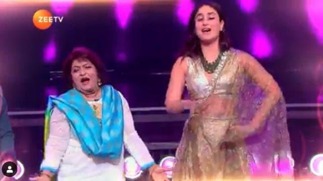 """Kareena Kapoor Reveals How She Was Once Scolded By Choreographer Saroj Khan Who Told Her """"A Ladki, Kamar Hila"""""""