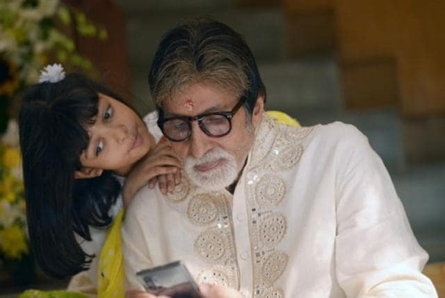 Amitabh Bachchan Discharged From Hospital, Returns With Abhishek, Shares A Photo With Grand-daughter Aaradhya