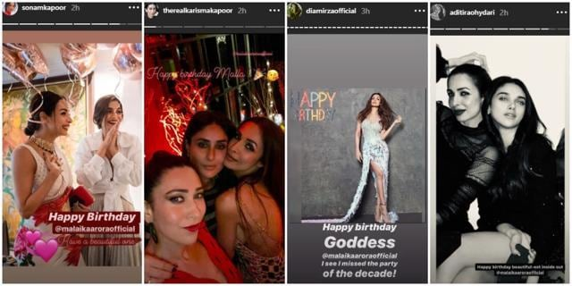 Arjun Kapoor Shares A Romantic Picture With Malaika Arora On Her Birthday; See How Other Bollywood Celebs Wished Her