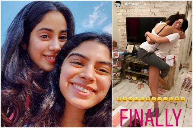 Khushi Kapoor Comes Back Home To Sister Janhvi's Bear Hug, See Picture
