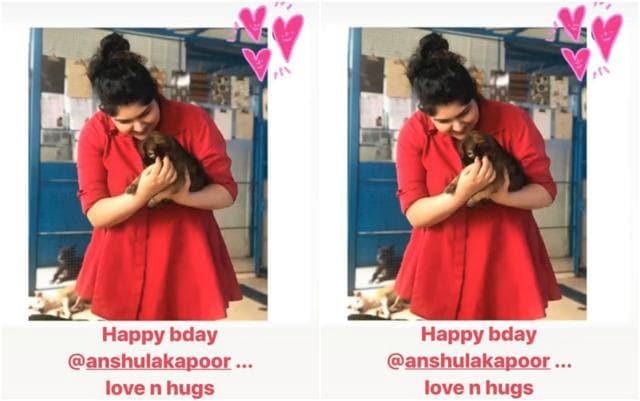 Malaika Arora Showers Love On Boyfriend Arjun Kapoor's Sister Anshula On Her Birthday
