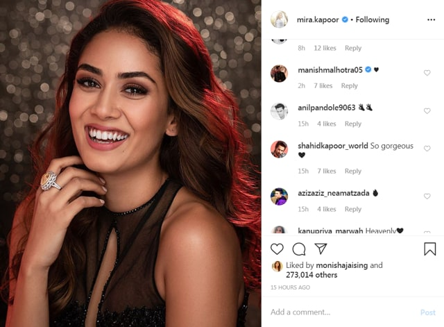Mira Rajput Models For Manish Malhotra, Husband Shahid Kapoor Can't Take His Eyes Off Her