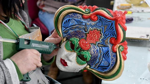 Photos  Made in Albania: carnival masks that travel the world