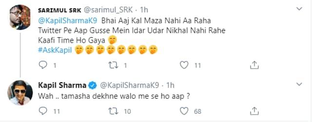 Kapil Sharma Twitter