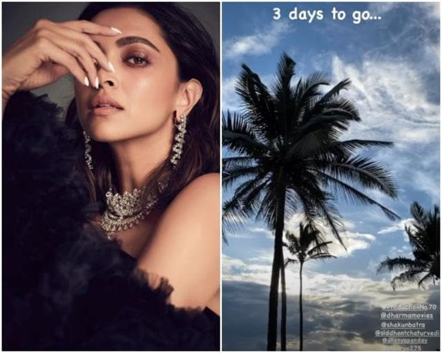 Deepika Padukone In All Excitement Begins The Countdown For Shakun Batra's Film: '3 days to go'