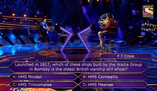 KBC 12: Mohita Sharma Quit The Game Unable To Answer This Rs. 7 Crore Question, Do You Know The Answer?