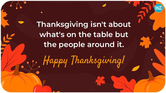 Happy Thanksgiving 2020: Quotes, wishes, images to share with your loved  ones - Hindustan Times