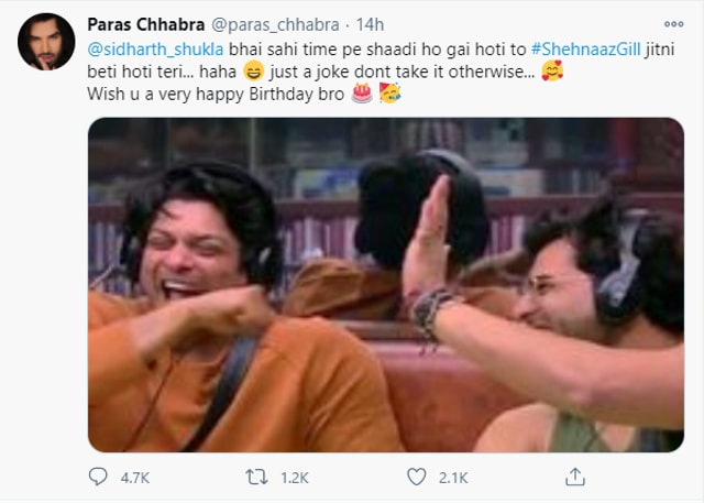 Paras Chhabra's Fan Calls Sidharth Shukla Old Enough To Be Shehnaaz Gill's Father, Rahul Vaidya Defends Him