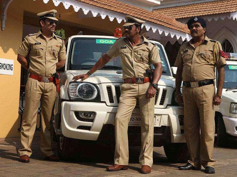 Ajay Devgn is playing a cop in the South film remake.