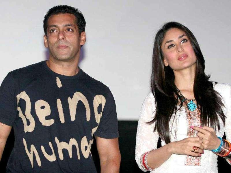After having worked in Kyunki and Mr and Mrs Khanna, this is Salman and Kareena's third film together. (AFP)