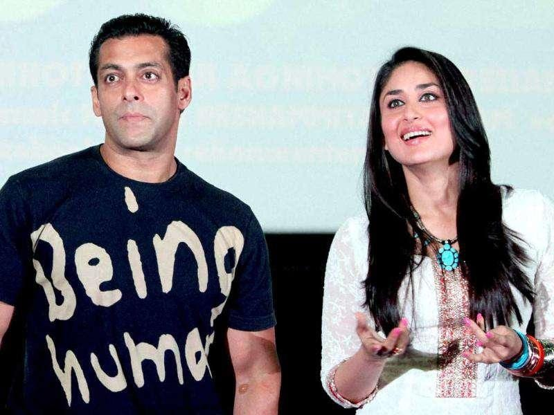 Undoutedly, Salman and Kareena make one of the best looking pairs in Bollywood. (AFP)