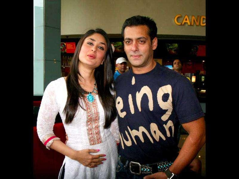 Salman Khan and Kareena Kapoor make one of the best looking couples on screen. The two will be seen in Bodyguard, directed by Siddique. Here's the duo promoting their new film together. Follow @htShowbiz for the latest celeb buzz