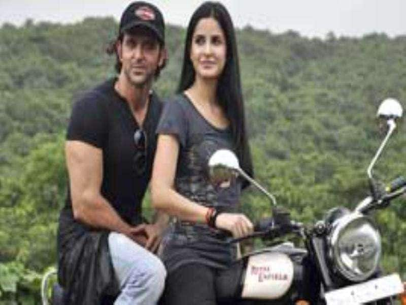Katrina Kaif zips through Mumbai roads on a Royal Enfield, while her ZNMD co-star Hrithik rides the pillion. Check out more pics of the stars. Movie Contest: Singham | Follow @htShowbiz for the latest celeb buzz