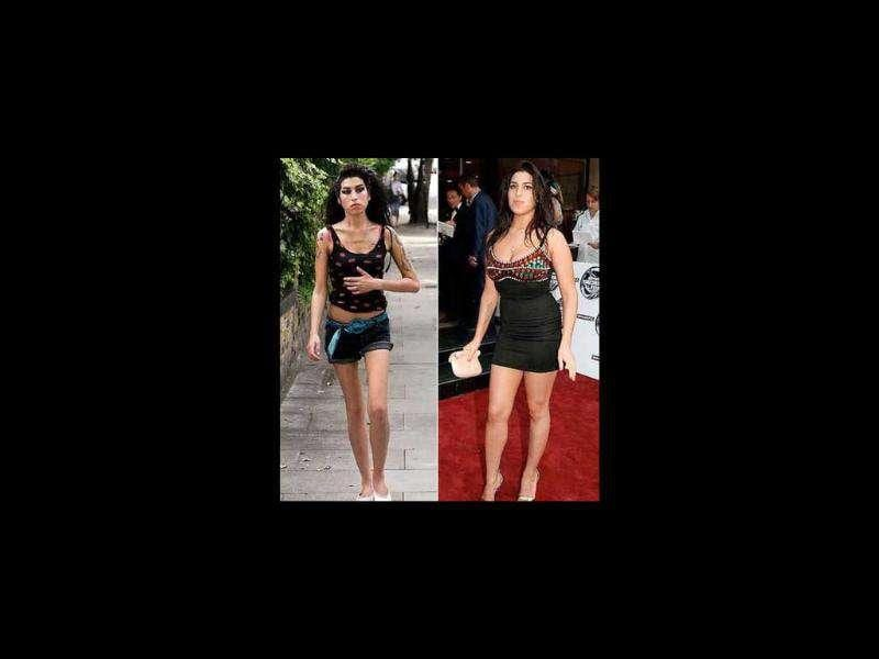 She lost a drastic amount of weight because of an exhaustive schedule of promotional appearances and concerts in the UK and US.