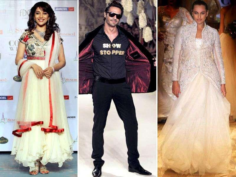 The star studded Delhi Couture Week is over. B-town celebrities took the ramp by storm and proved their style prowess. Here's a look at some stars who shone at the Delhi Couture Week. Follow @htShowbiz for more fashion updates