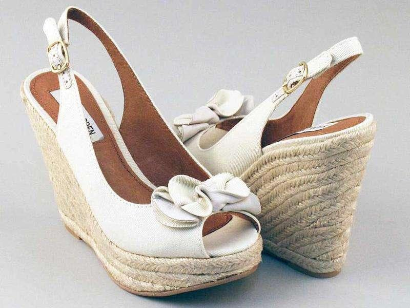 10. Wedge heels: Are not the style statement for a go-getter, according to bosses surveyed.
