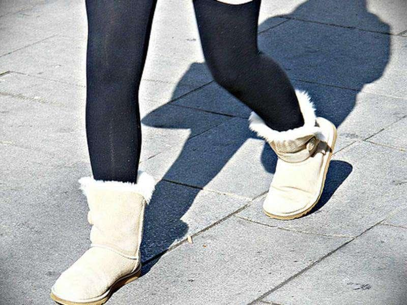 3. Ugg boots: Might look cute as hell otherwise, but not in office.