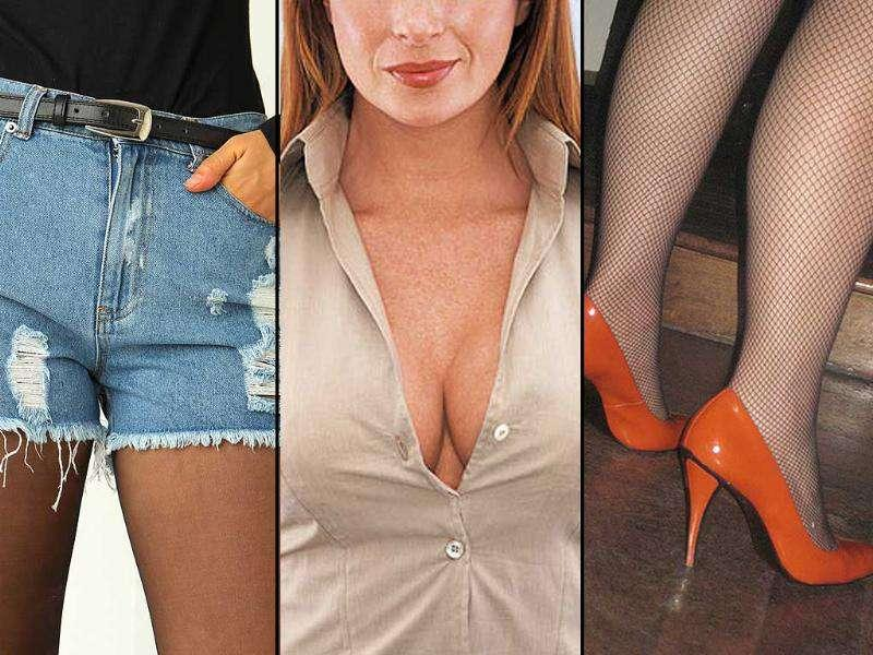 According to a survey, showing too much cleavage in office is the ultimate fashion blunder any woman can commit. Visible underwear is also a sin! Here's what not to wear to office. Follow @htShowbiz for the latest celeb buzz