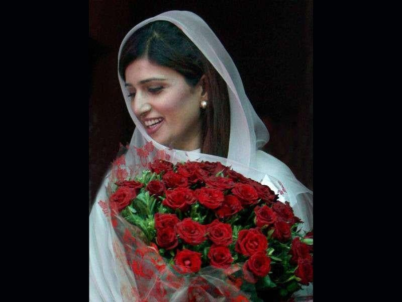 Hina Rabbani Khar is Pakistan's youngest and first female Minister of Foreign Affairs.