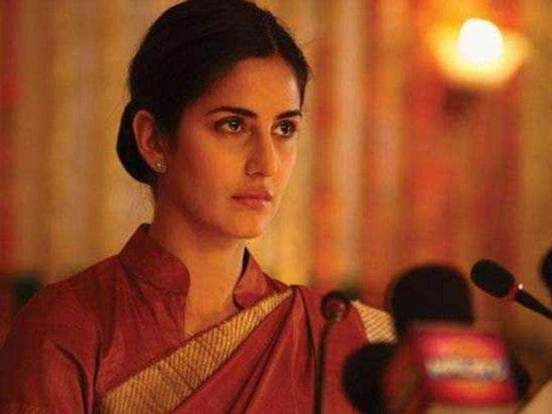 Katrina Kaif played a politician in Rajneeti which was rumoured to an imitation of Sonia Gandhi.