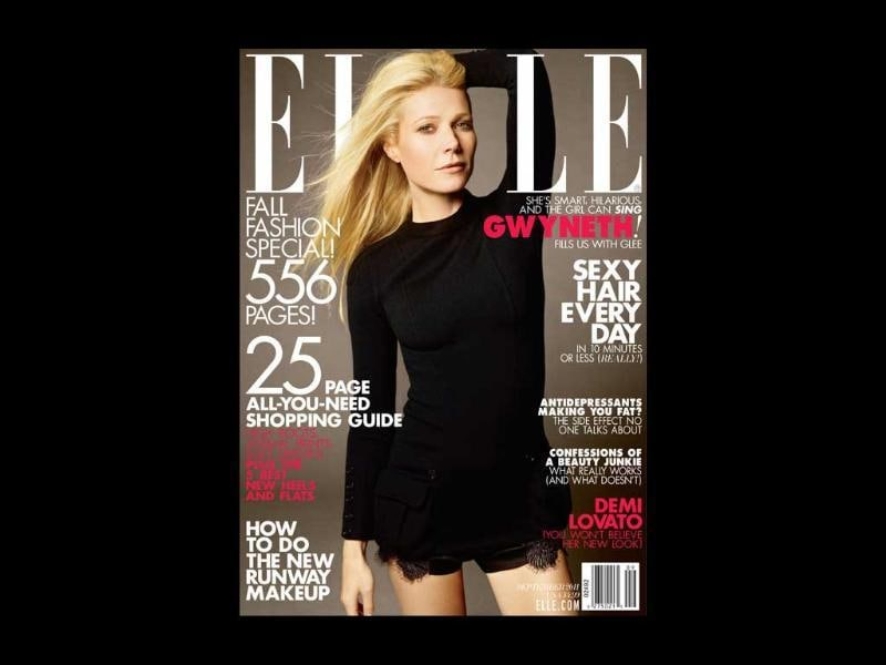 Elle US: Gwyneth PaltrowThe American actor-singer played it safe with a LBD but looks gorgeous nevertheless.