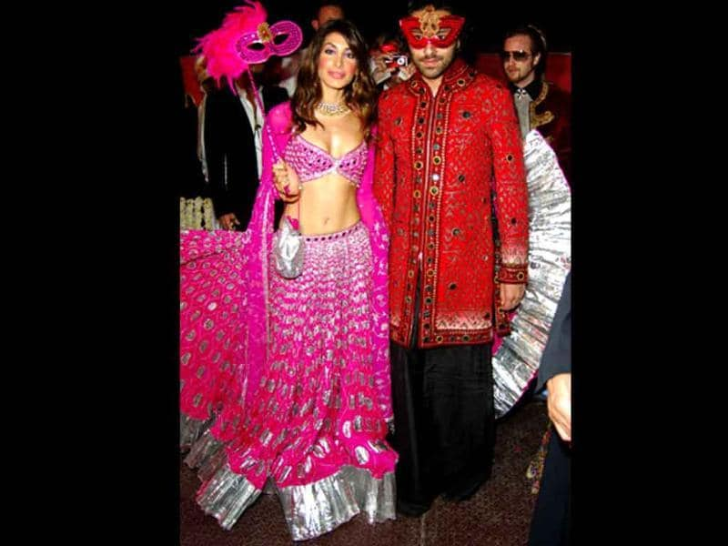 Vikram Chatwal And Priya Sachdev February 18 2006vikram S Was The Fat Indian Wedding As Celebrities Like Bill Clinton