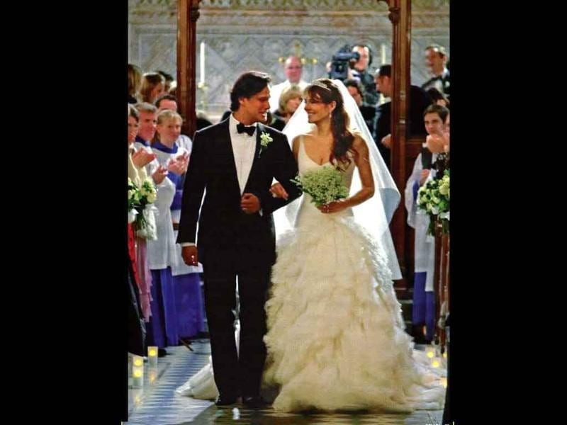 Elizabeth Hurley and Arun Nayar: March 3, and March 9, 2007This couple had three wedding ceremonies, one in Gloucestershire, one in Sunderly Castle and one in Jodhpur in India. The epic eight-day wedding reportedly cost 2.5 million though the couple split in 2011. Hurley is now dating cricketer Shane Warne.