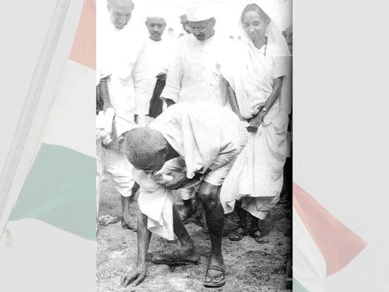The pathbreaking Dandi March on March 12, 1930, led by Mohandas Karamchand Gandhi, was one of his first experiments with 'Satyagraha'-- non violent protest -- against British Raj's salt laws.