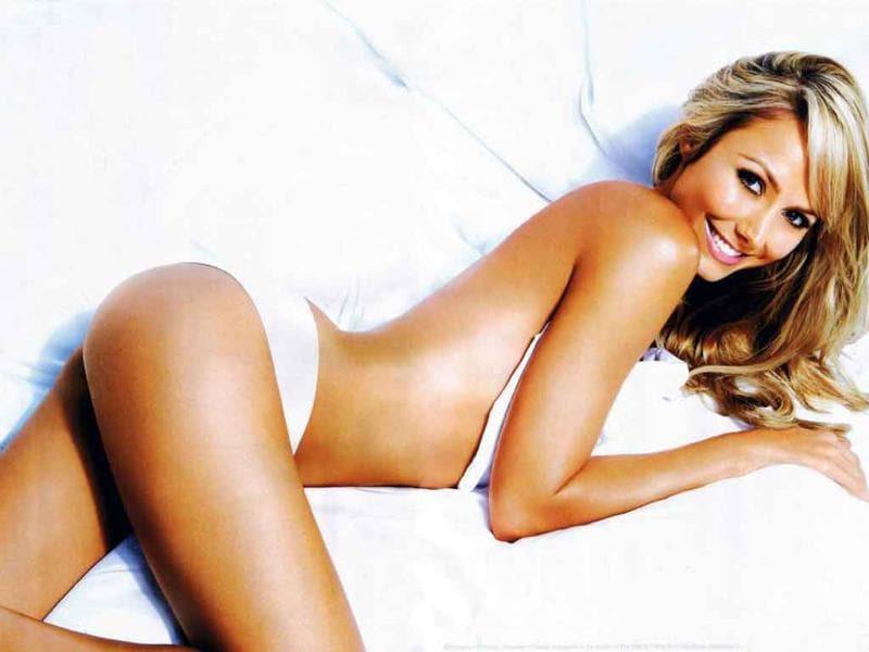 Nicknamed 'Weapon of mass seduction', Keibler has modeled for Maxim and Stuff magazines.