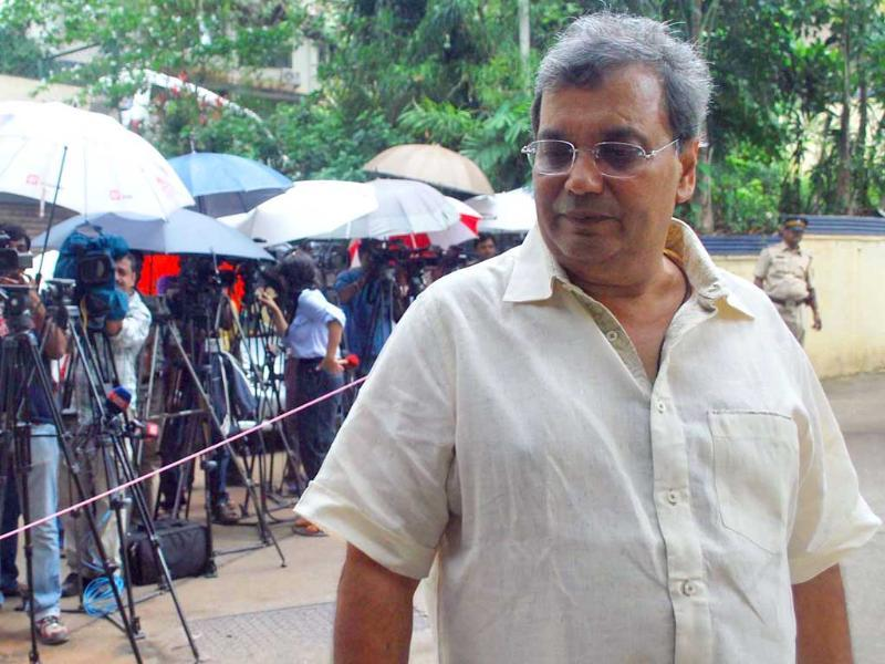 Film director Subhash Ghai pays his respects to the late Shammi Kapoor.