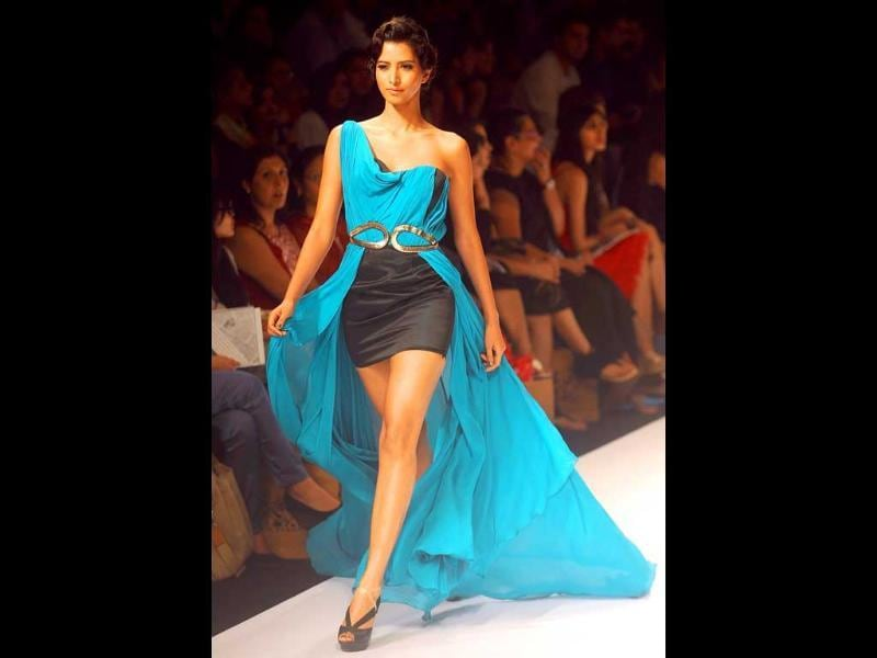 Jatin Verma's collection included gowns, dresses, skirts and tops.