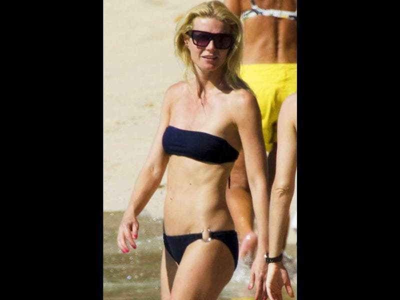 Gwyneth PaltrowThe 38-year-old mum-of-two works out five days a week, 45 minutes of cardio and 45 minutes of muscular strength. She also watches what she eats and rarely lets loose on snacks or wine.
