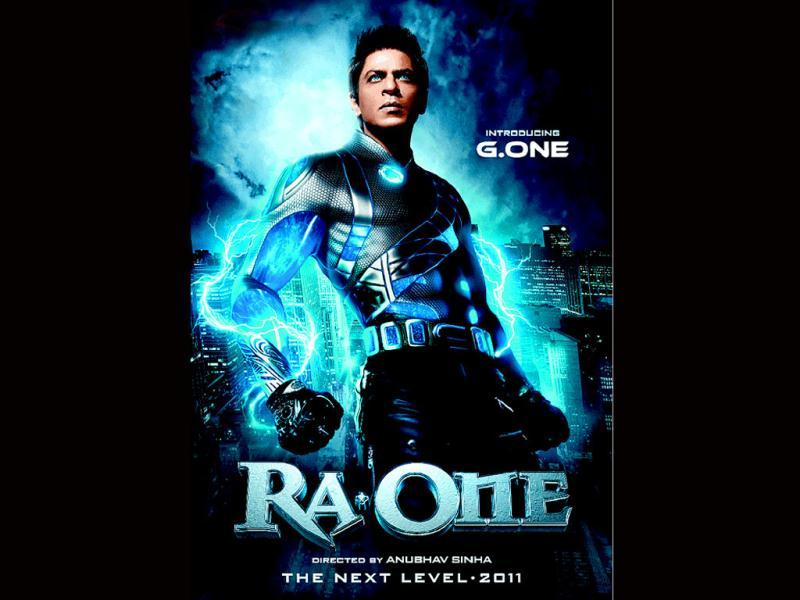 SRK in a still from the film RA.One.