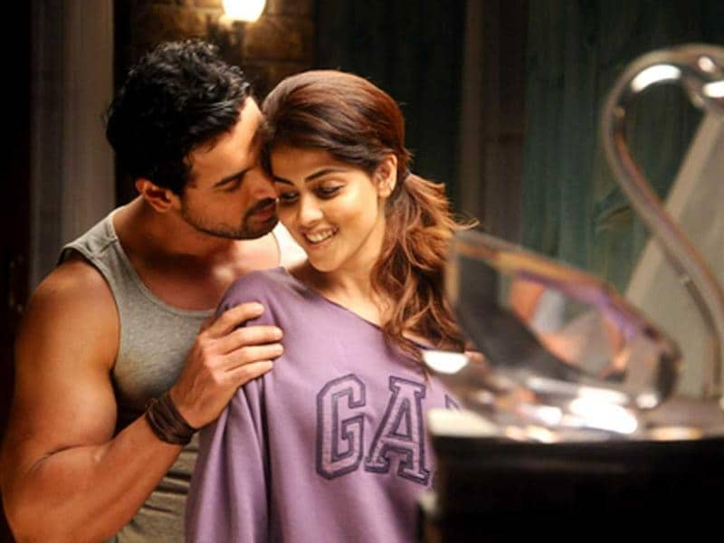 John Abraham is paired opposite Genelia D'Souza in Force.