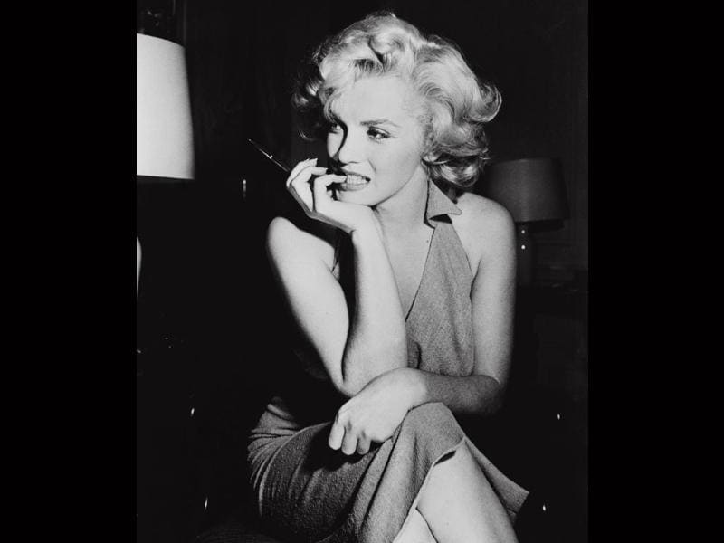 Marilyn Monroe or Norma Jean Baker (1926 - 1962) was a very successful Hollywood actor and a sultry sex icon.