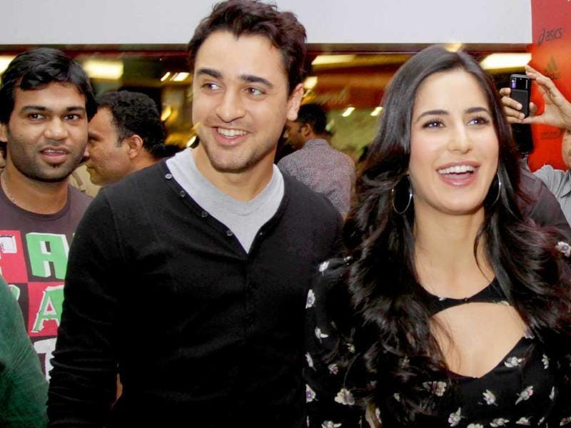 Imran-Katrina are all smiles at the Mere Brother Ki Dulhan press conference.