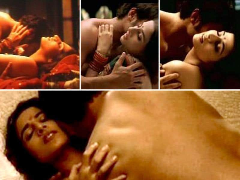 Vidya had an intimate scene with Saif Ali Khan in Parineeta.